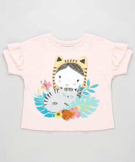 Blusa-Infantil-Menina-com-Bichinhos-e-Babado-Manga-Curta-Rosa-Claro-9887643-Rosa_Claro_1