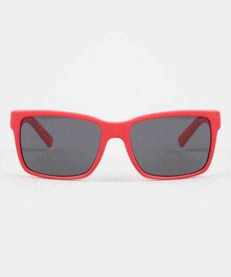 Oculos-de-Sol-Quadrado-Infantil-Unissex-Oneself-Vermelho-9945014-Vermelho_1