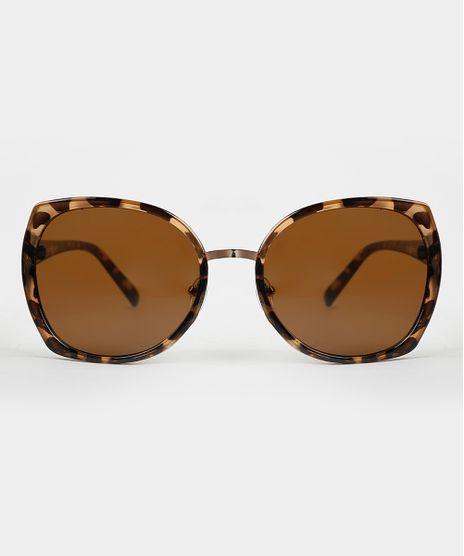 Oculos-de-Sol-Redondo-Feminino-Yessica-Tartaruga-9946524-Tartaruga_1