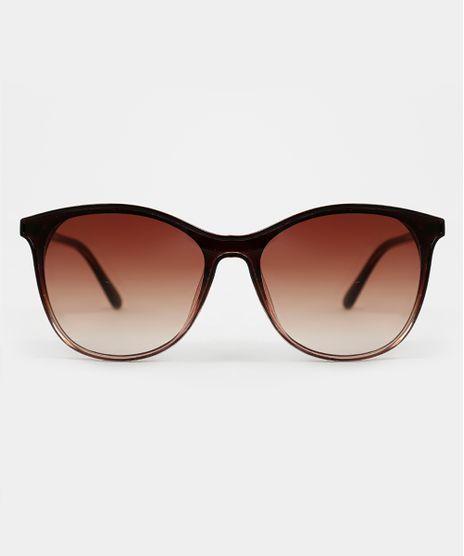 Oculos-de-Sol-Redondo-Feminino-Yessica-Marrom-9944160-Marrom_1