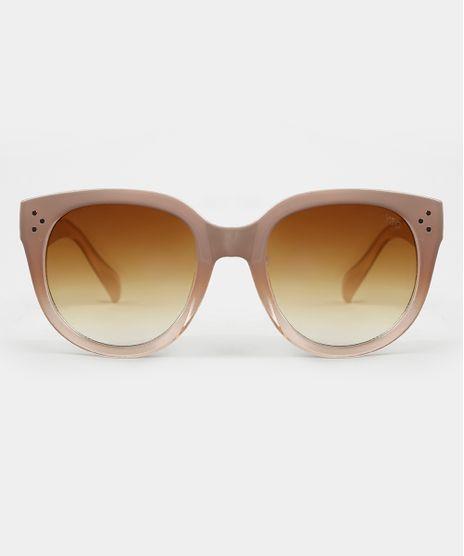 Oculos-de-Sol-Redondo-Feminino-Yessica-Kaki-Claro-9944119-Kaki_Claro_1