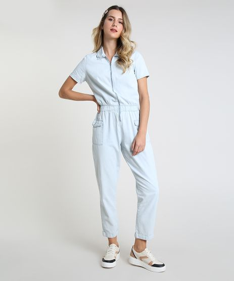 Macacao-Jeans-Feminino-com-Ziper-Manga-Curta-Azul-Claro-9944882-Azul_Claro_1