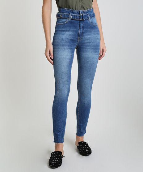 Calca-Jeans-Feminina-Skinny-Clochard-Cintura-Super-Alta-Azul-Medio-9944943-Azul_Medio_1