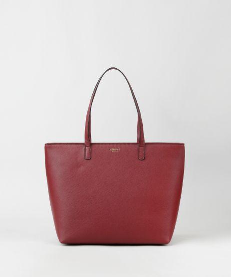 Bolsa-Feminina-Shopper-Grande-com-Alca-de-Ombro-Vinho-9915361-Vinho_1