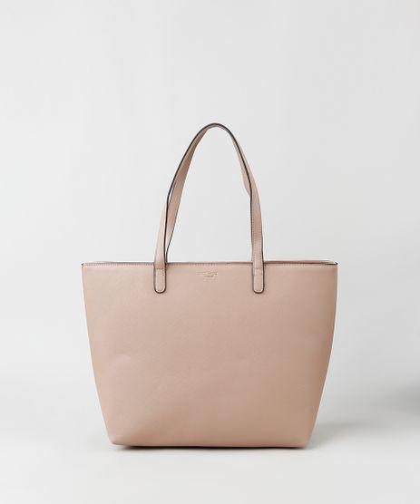 Bolsa-Feminina-Shopper-Grande-com-Alca-de-Ombro-Kaki-9915361-Kaki_1