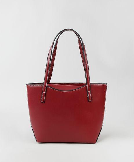 Bolsa-Feminina-Shopper-Grande-com-Alca-Transversal-Vinho-9874863-Vinho_1