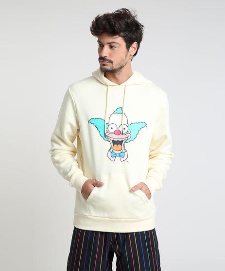 Blusao-Masculino-Palhaco-Krusty-Os-Simpsons-em-Moletom-com-Capuz-Amarelo-Claro-9800218-Amarelo_Claro_1