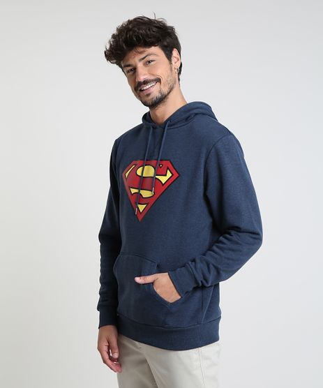 Blusao-Masculino-Super-Homem-em-Moletom-com-Capuz-Azul-Escuro-9800166-Azul_Escuro_1