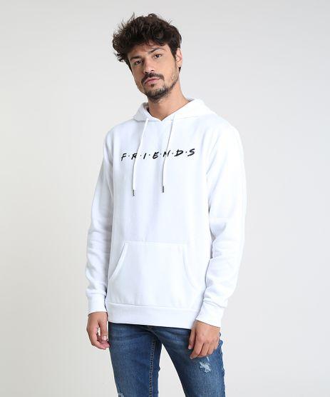 Blusao-Masculino-Friends-em-Moletom-com-Capuz-Branco-9801842-Branco_1
