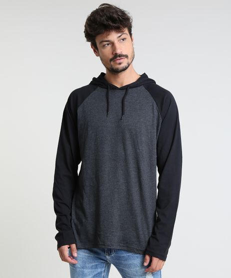 Camiseta-Masculina-Basica-Raglan-com-Capuz-Manga-Longa-Cinza-Mescla-Escuro-9826873-Cinza_Mescla_Escuro_1