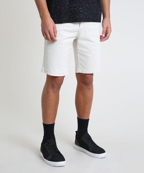 Bermuda-de-Sarja-Masculina-Slim-com-Bolsos-Off-White-9895992-Off_White_1
