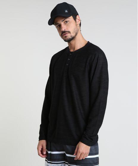 Camiseta-Masculina-Texturizada-Manga-Longa-Gola-Portuguesa-Preta-9788922-Preto_1