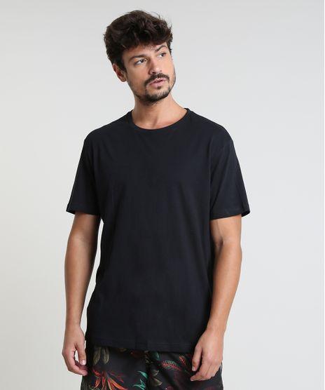 Camiseta-Masculina-Basica-Manga-Curta-Gola-Careca-Preta-9597170-Preto_1