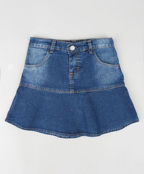 Saia-Jeans-Infantil-com-Babado-e-Bolsos-Azul-Escuro-9892626-Azul_Escuro_1