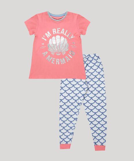 Pijama-Infantil-Concha-e-Sereia-Manga-Curta-Rosa-9879742-Rosa_1