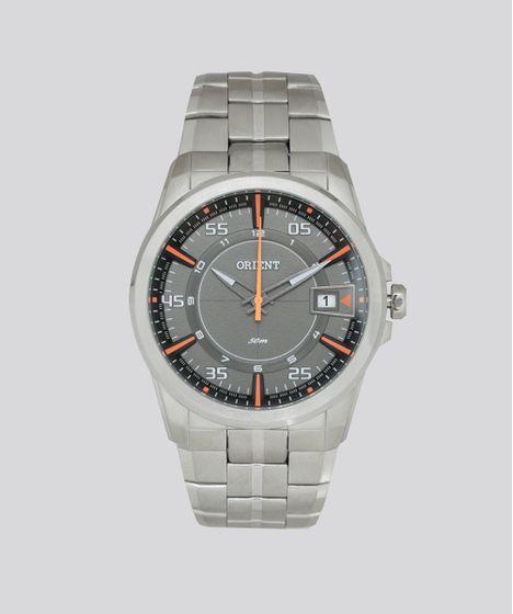 d904fde3759 Relógio Analógico Orient Masculino - MBSS1315 GOSX Prateado - cea