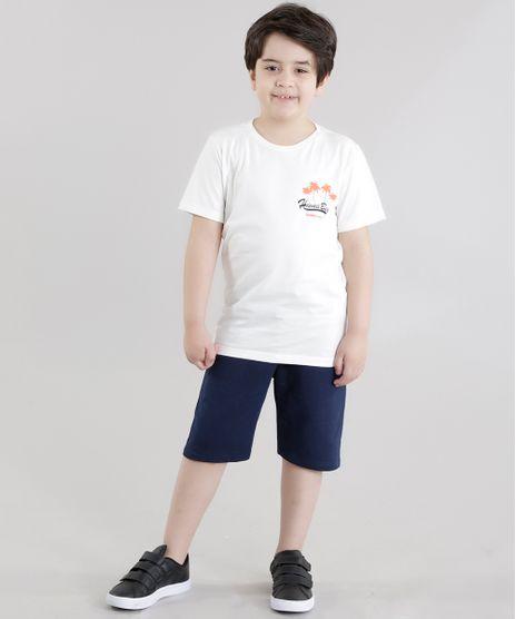 Conjunto-de-Camiseta--Hawaii-Beach--Off-White---Bermuda-Azul-Marinho-8639791-Azul_Marinho_1