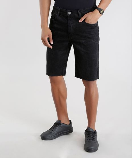 Bermuda-Jeans-Slim-Preta-8509041-Preto_1
