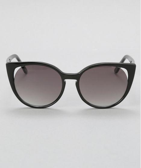 Oculos-Gatinho-Feminino-Oneself-Preto-8628968-Preto 1 ... 3da276b092