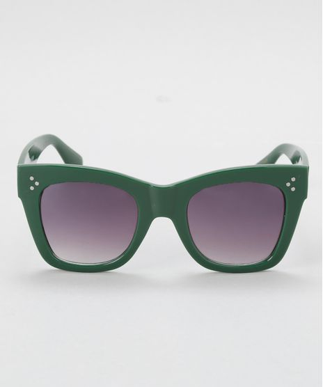 Oculos-Quadrado-Feminino-Oneself-Verde-Escuro-8677436-Verde_Escuro_1