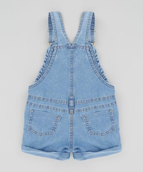 Jardineira jeans infantil c a for Jardineira jeans infantil c a