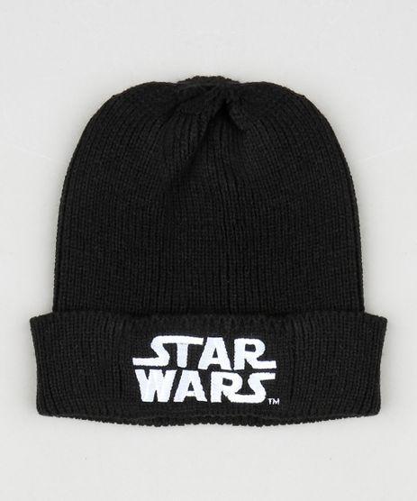 Gorro-Masculino-Star-Wars-em-Trico--Preto-9801874-Preto_1