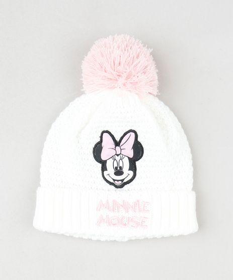Gorro-Minnie-Infantil-em-Trico-com-Pompom-Off-White-9785165-Off_White_1