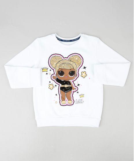 Blusao-Infantil-LOL-Surprise-em-Moletom-com-Paete-Branco-9916971-Branco_1