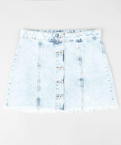 Saia-Jeans-Infantil-com-Botoes-e-Barra-Desfiada-Azul-Claro-9928674-Azul_Claro_1