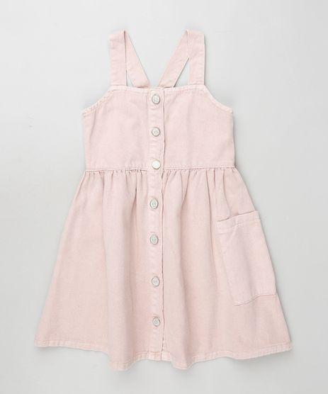 Salopete-de-Sarja-Infantil-com-Botoes-Rosa-Claro-9892622-Rosa_Claro_1