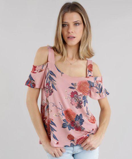 Blusa-Open-Shoulder-Estampada-Floral-Rose-8541750-Rose_1