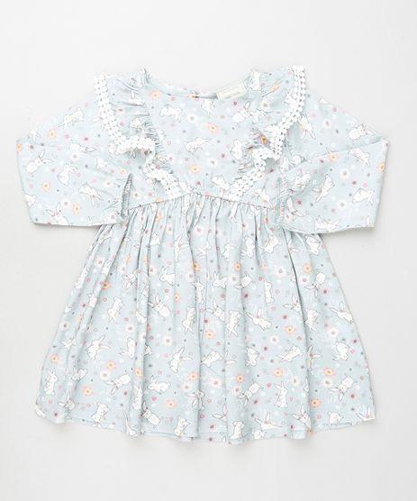 Vestido-Infantil-Estampado-de-Coelhos-com-Babado-Manga-Longa-Lilas-9906260-Lilas_1