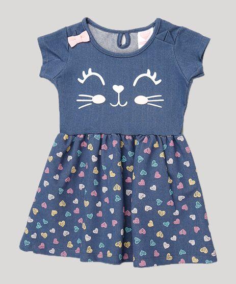Vestido-Infantil-Bichinho-com-Coracoes-Babado-na-Manga-Azul-Marinho-9868918-Azul_Marinho_1