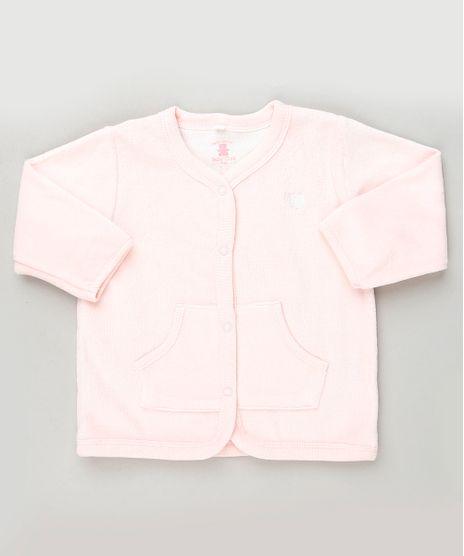 Cardigan-Infantil-em-Plush-com-Botoes-Rosa-Claro-9688486-Rosa_Claro_1