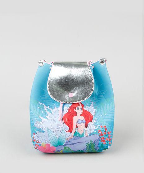 Bolsa-Infantil-Pequena-Sereia-Ariel-Estampada--Azul-9943407-Azul_1
