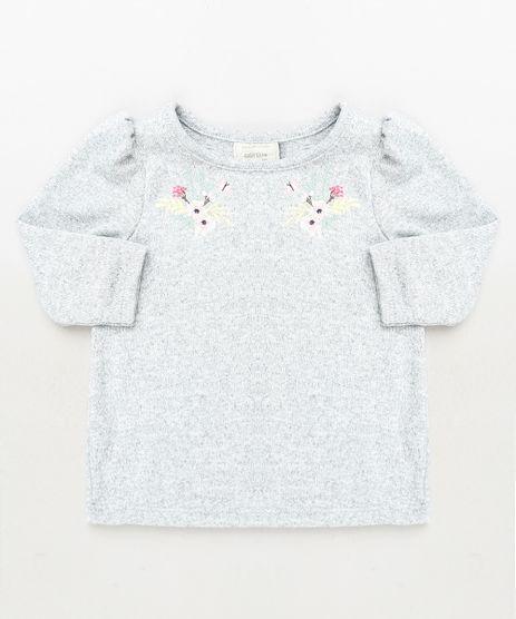 Blusa-Infantil-Floral-Manga-Longa-Cinza-Mescla-9930192-Cinza_Mescla_1