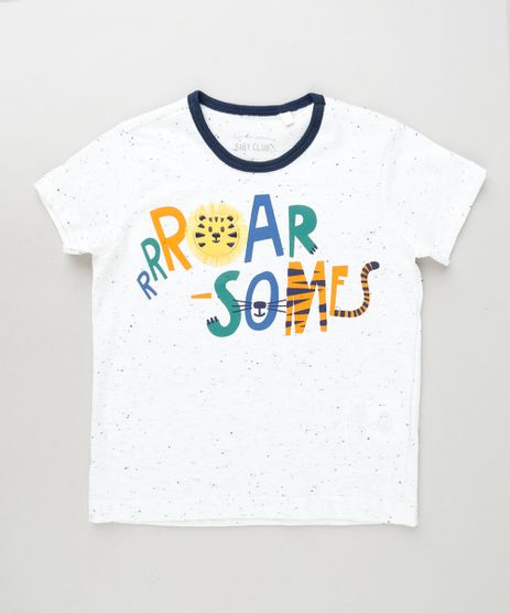 Camiseta-Infantil-Tigre-Manga-Curta-Branca-9872559-Branco_1