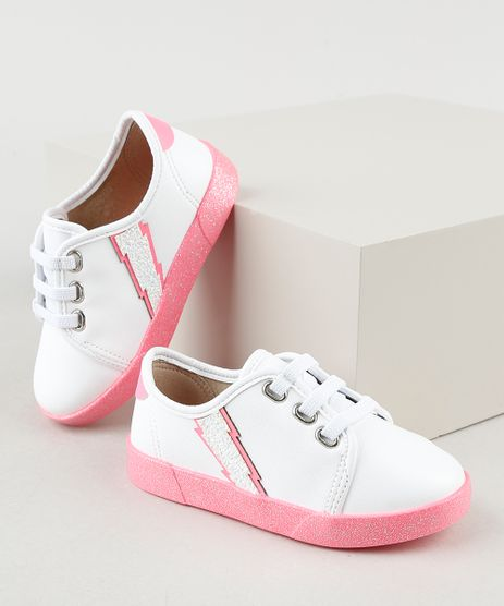 Tenis-Infantil-Baby-Club-Raio-com-Solado-de-Glitter-Branco-9941858-Branco_1