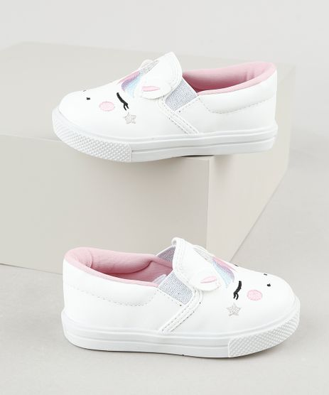 Tenis-Infantil-Slip-On-Baby-Club-Unicornio-Branco-9940901-Branco_1