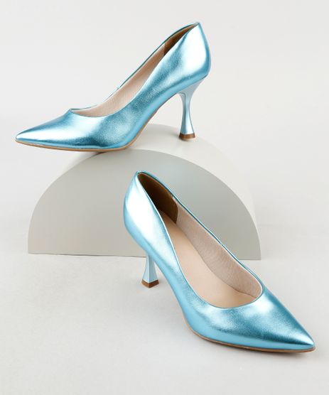 Scarpin-Feminino-Oneself-Metalizado-Bico-Fino-Salto-Taca-Azul-9942936-Azul_1