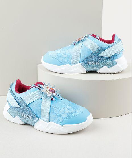 Tenis-Infantil-Grendene-Frozen-com-Elastico-Azul-9912237-Azul_1