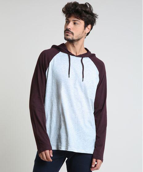 Camiseta-Masculina-Basica-Raglan-com-Capuz-Manga-Longa-Cinza-Mescla-Claro-9826873-Cinza_Mescla_Claro_1