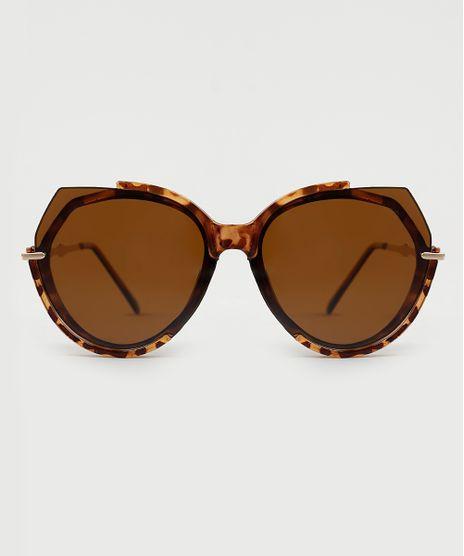 Oculos-de-Sol-Redondo-Feminino-Yessica-Tartaruga-9946523-Tartaruga_1