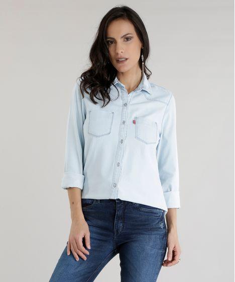 c54c6ecb7f9ba5 Camisa-Jeans-Azul-Claro-8606919-Azul_Claro_1 ...