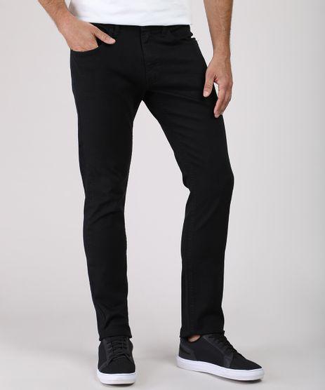 Calca-Jeans-Masculina-Slim-Preta-9884264-Preto_1