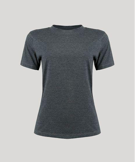 T-Shirt-Feminina-Mindset-Manga-Curta-Decote-Redondo-Cinza-Mescla-Escuro-9394894-Cinza_Mescla_Escuro_1