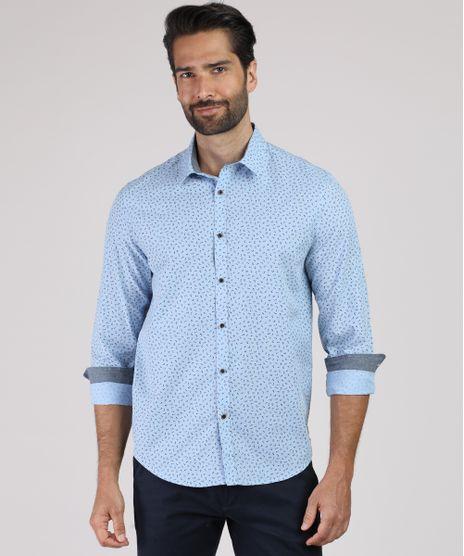 Camisa-Masculina-Tradicional-Estampada-Floral-Manga-Longa-Azul-Claro-9831519-Azul_Claro_1