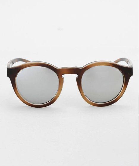 05090892ee939 Oculos-Redondo-Feminino-Oneself-Marrom-8628917-Marrom 1 ...
