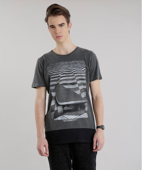 Camiseta-Longa--Skateboard-City--Chumbo-8634075-Chumbo_1