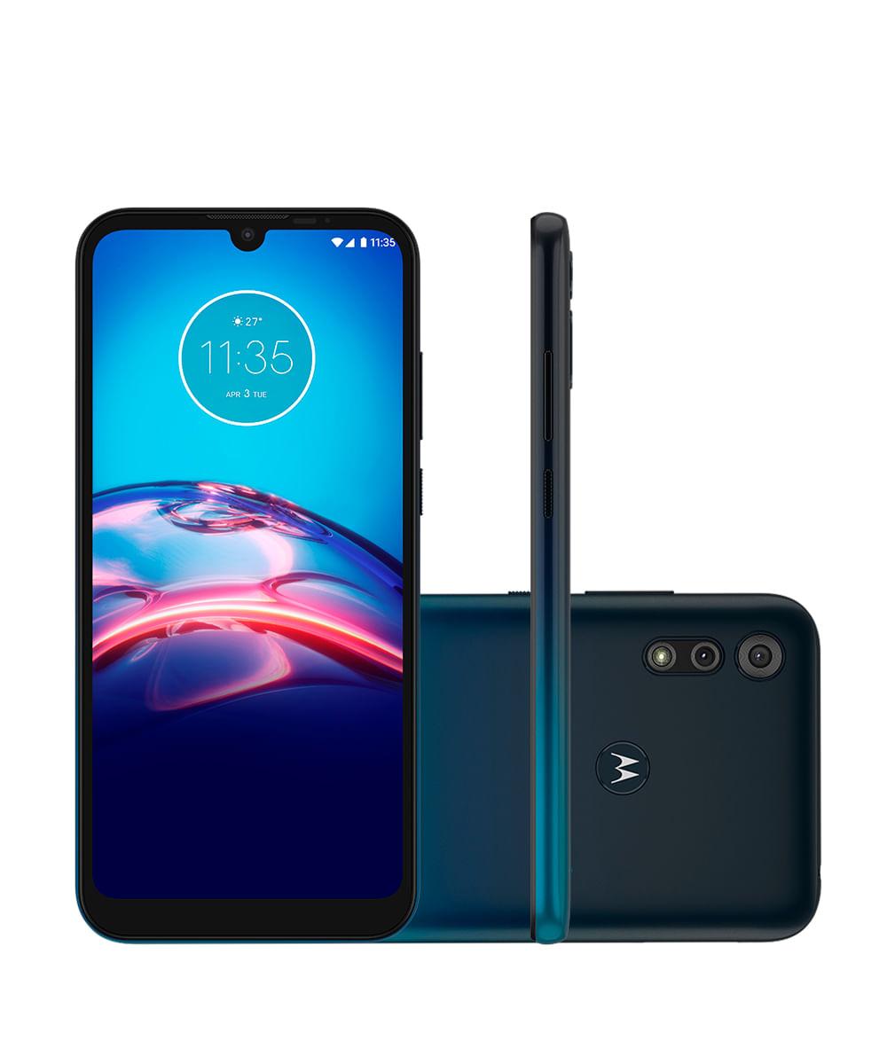 Smartphone Motorola XT2053 Moto E6S 32GB Azul Navy